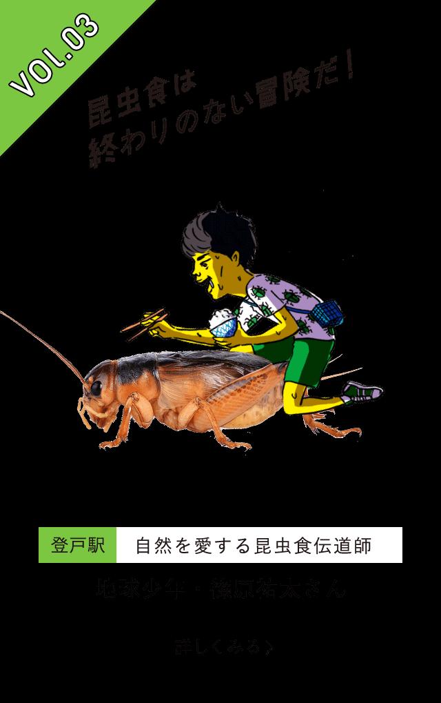 vol.3 昆虫食は終わりのない冒険だ
